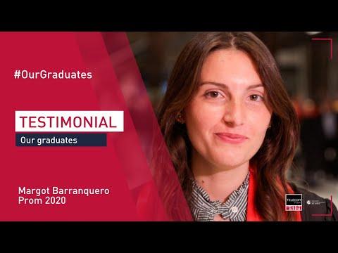 [Graduation Ceremony] Margot Barranquero testimonial (Eng subtitles)