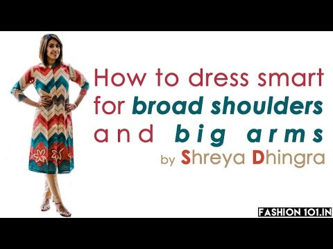 How To Dress Smart For Broad Shoulders And Big Arms
