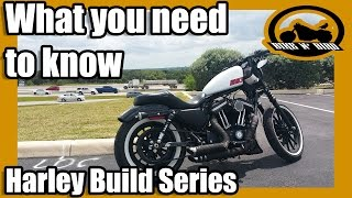 "What I Loved/Hated - Harley ""Build"" Series Iron 883"