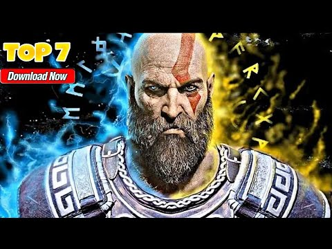 Top 7 Games Like God Of War For Android|Download Apk Obb|RPG Games,HD GRAPHICS,2019 May