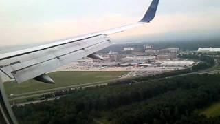 Durchstarten in Frankfurt von New York :)