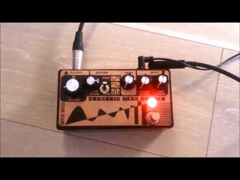 Subsonic Bass Divider (Clone) - Guitar Demo