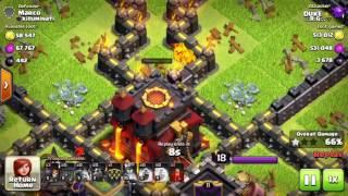 Deathbases TH9.5 & TH10 Loot Farming Strategy