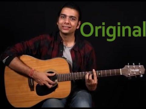 The Humma Song   Ok Jaanu   Guitar Lesson   Cover   Algorythm