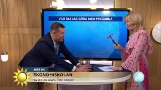 Ta del av ekonomiexpertens spartips - Nyhetsmorgon (TV4)