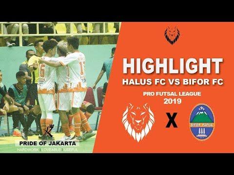 Highlight : Halus FC vs Bifor FC ( 5 - 3 ) : Pro Futsal League 2019 ( Pekan 1 )