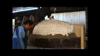 Assembly Instruction Residential Oven Part 4 Cupola Shaped Insulation