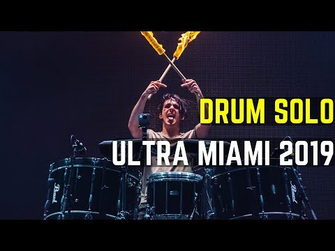 Fire Drum Solo - Ultra Music Festival Miami 2019 | Matt McGuire