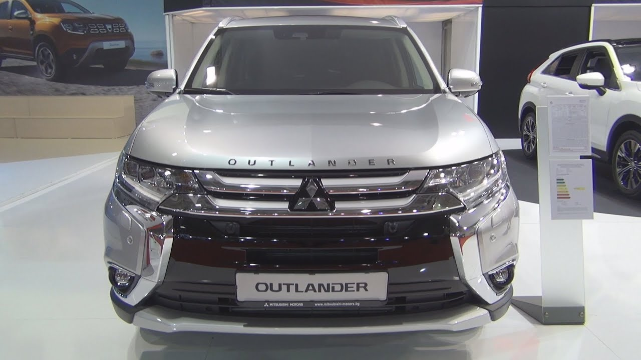 mitsubishi outlander 4wd 2.2 di-d instyle safety+ at (2018) exterior