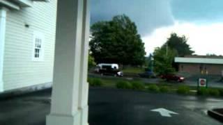 tornado touching down in westfield ma on 6 1 11