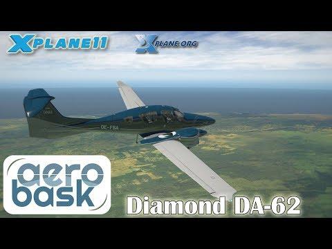 Aerobask Diamond DA-62 for X-plane 11