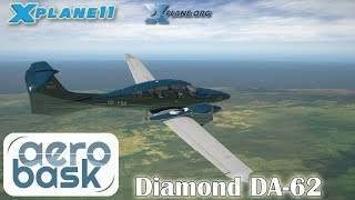 Aerobask Diamond DA-62 for X-plane 11