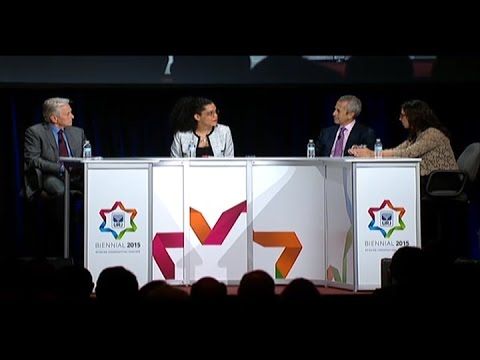 Audacious Hospitality Panel: Michael Douglas, Danny Meyer and April Baskin - Biennial 2015