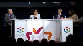 Audacious Hospitality Panel: Michael Douglas, Danny Meyer and April Baskin - Biennial 2015