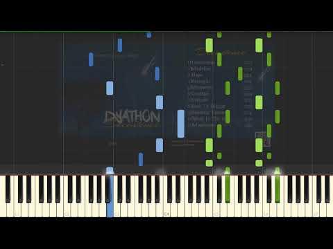 DYATHON - Tenderness [Piano Tutorial] (Synthesia)