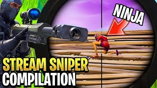 Best Fortnite \'Stream Sniper\' Compilation!