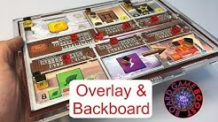 Terraforming Mars Player Mat Overlays WITH Backboards