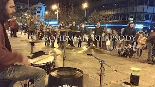 Bohemian Rhapsody (Queen) - Street Drum Session