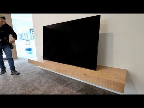 Plywood Floating Shelf with Hidden Hatch
