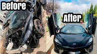 $$ SOLD $$ McLaren 570s From Wrecked To Perfect Condition