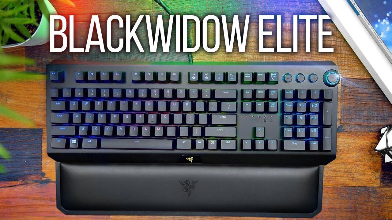 Razer Blackwidow Elite Keyboard Review!