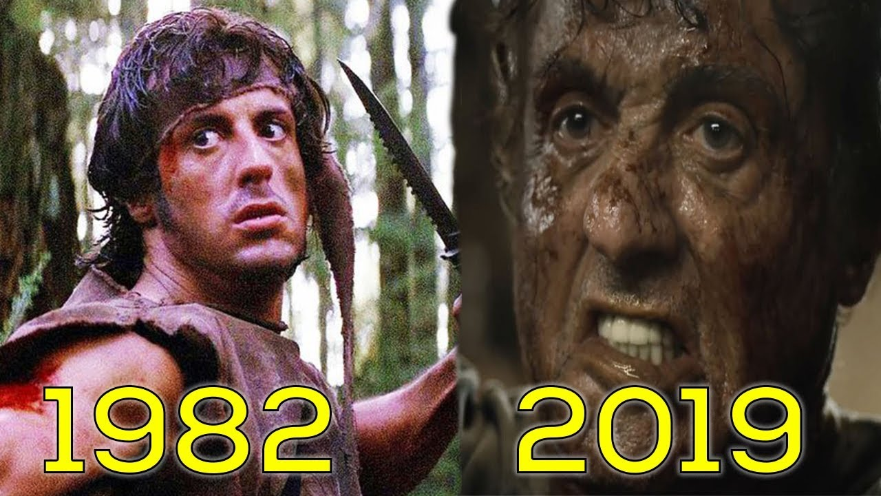 Evolution of Rambo in Movies & TV (1982-2019) - YouTube