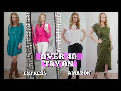 OVER 40 STYLE TRY ON| AMAZON TRY ON| EXPRESS TRY ON