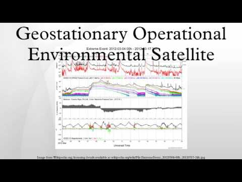 Geostationary Operational Environmental Satellite