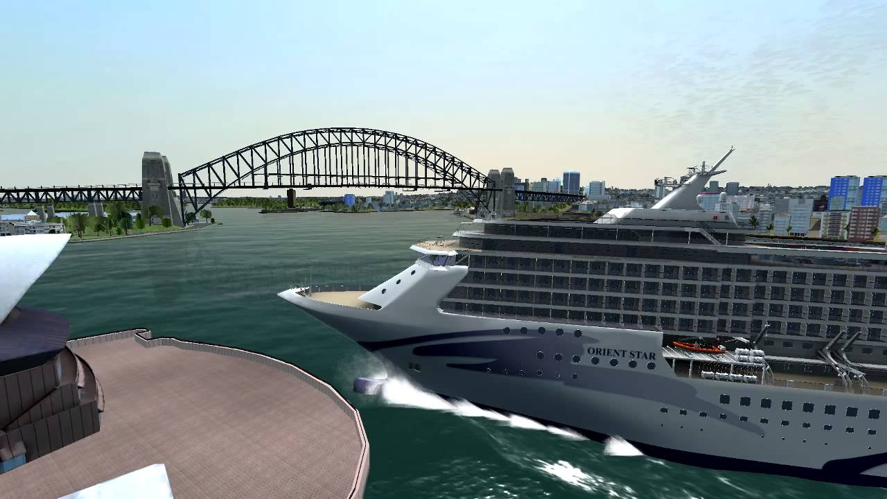Cruise Ship Full Speed CRASH Into Sydney Opera House MUST SEE - Cruise ship speed