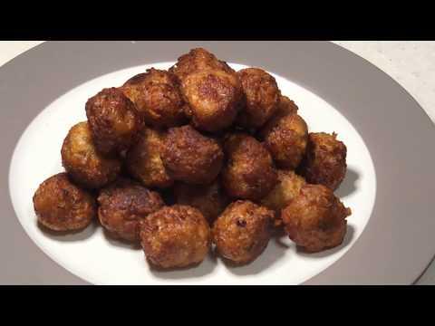 how-to-do-double-fry?-deep-fried-meatball-如何炸肉圆至脆黄