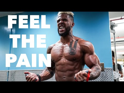 Shoulders & Arm Shock Training | The Pump Is Real