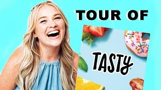 WELCOME TO MY CHANNEL + TOUR OF BUZZFEED TASTY | Alix Traeger