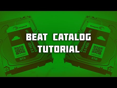 How To Organize Your Beat Catalog 2017 (#NPLB)