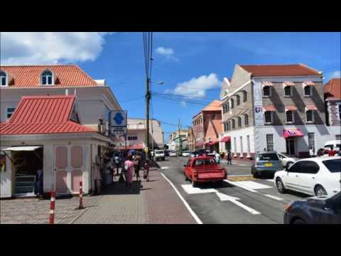 The Town Of St George's In Grenada