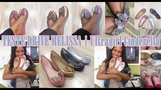 TESTE DRIVE | Melissa Ultragirl Cinderella Disney | COLEÇÃO STAR WALKER