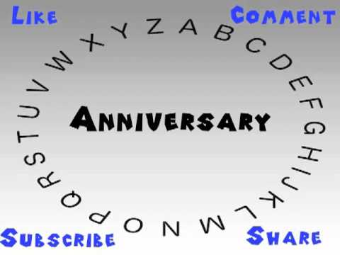 how to say or pronounce anniversary youtube