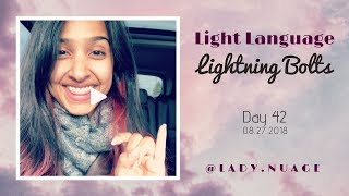 Light Language - Lady Nuage - Lightning Bolt #42