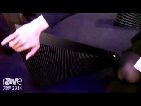 ISE 2014: Aboutshow Showcases the Triangle, a Triangular Connectable LED module