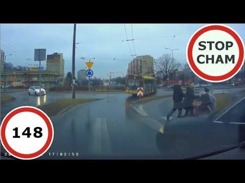 Stop Cham #148 – Niebezpieczne i chamskie sytuacje na drogach