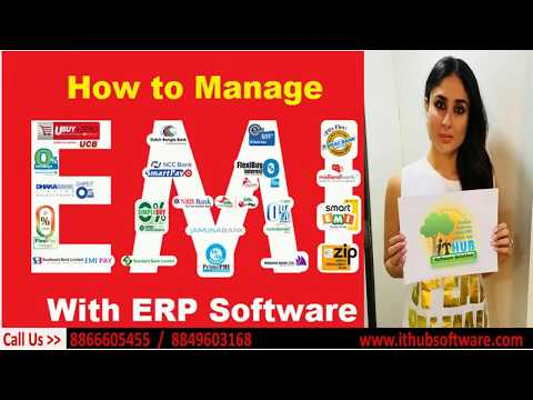 How To maintain EMI in ERP Software