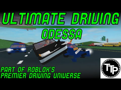 Roblox:Ultimate Driveing Odessa:Epic Police Chases!