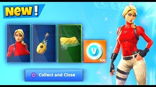 NEW Fortnite STARTER PACK 6 FREE! (Laguna Skin Sweepstakes)