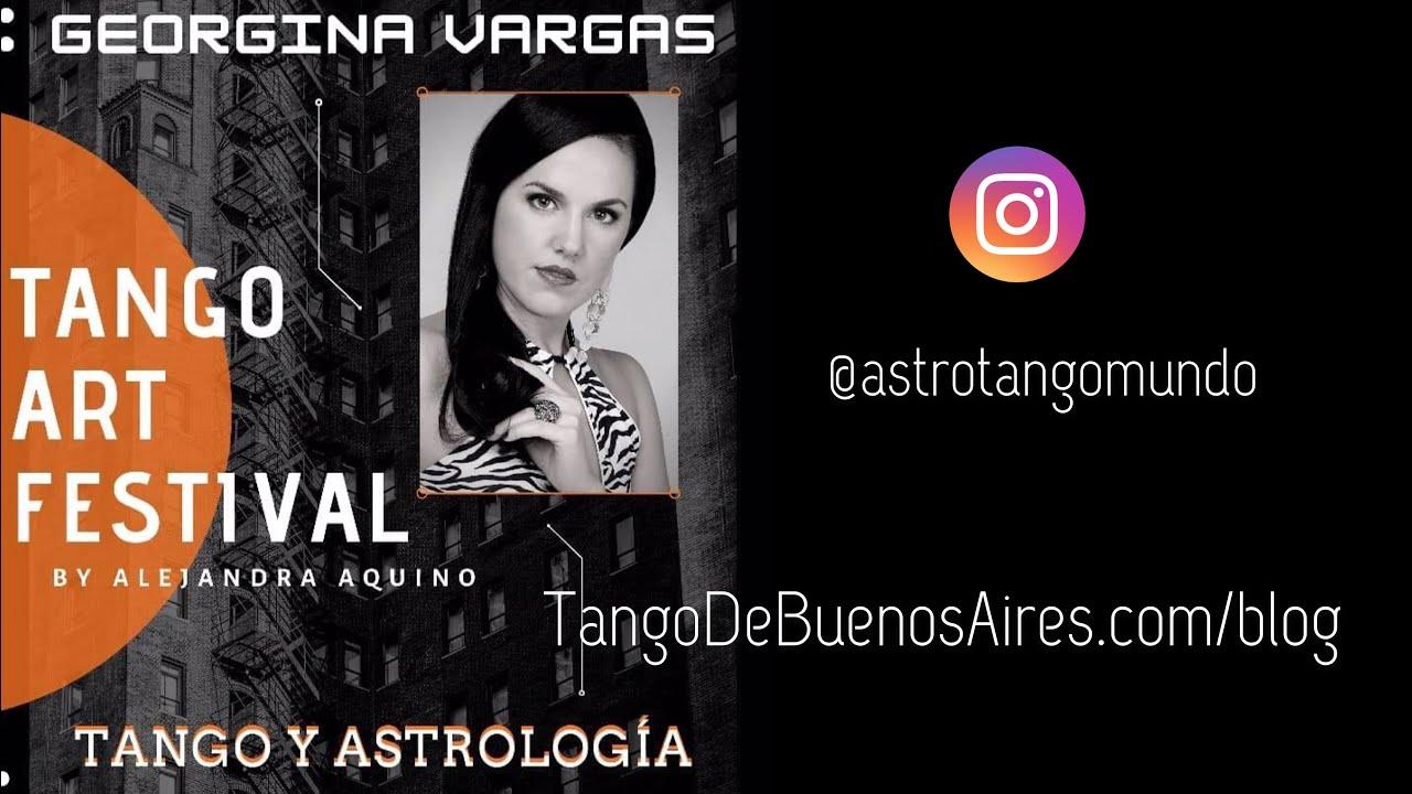 Charla de Tango y Astrologia en el Tango Art Festival by Alejandra Aquino