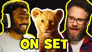 Download Behind The Scenes on THE LION KING - Voice Cast Songs, Clips & Bloopers Mp3 and Videos