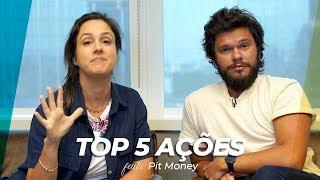 Top 5 AÇÕES para VIVER DE RENDA com DIVIDENDOS Ft Pit Money