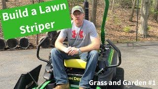 How to Stripe Your Lawn with a John Deere ZTrak