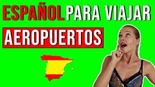 Vocabulario en el aeropuerto   Español para viajar thumbnail