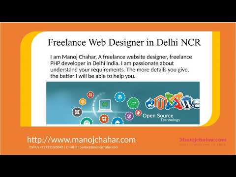Freelance Web Designer In Delhi Ncr Website Designer In Delhi Youtube