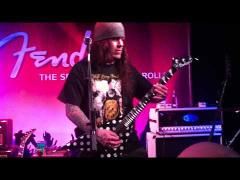 "Phil Demmel from Machine Head played ""This Is The End"" @ Frankfurt Musikmesse Shred Show 13.04.2012"