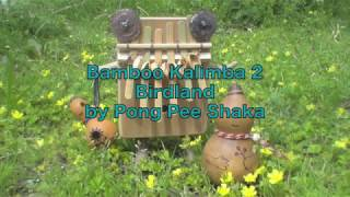 Bamboo Kalimba2 - Bird Land - by Pong Pee Shaka